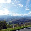 Am Rand der Pyrenäen.