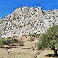 Unterwegs zwischen Antequera und El Chorro