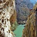 Caminito del Rey - die erste Schluchtpassage