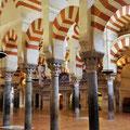 Cordoba - Mezquita Catedral Säulenbögen