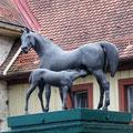Brunnenfigur Gestüt Marbach