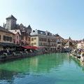 Annécy - Besuch der Altstadt unbedingt empfehlenswert!