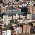 Lleid - Blick vom Castell auf den Bahnhof