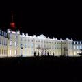 Lichtshow am Schloss zur 300 Jahr Feier Karlsruhe