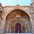 Lleida - Catedral Antigua, Haupteingang