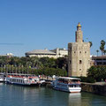 Sevilla - Blick über den Fluss.