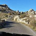 El Torcal - Straße zum Nationalpark