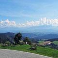Ausssicht vom Gipfelhaus Magdalensberg