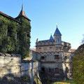 Blick auf Schloss Lichtenstein.