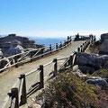 El Torcal - Aussichtssteg am Besucherzentrum