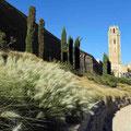 Lleida - Aufgang zum Castell und der Catedral Antigua