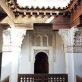 Marrakech - Medersa ben Youssouf