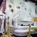 Fes - Hochzeitssitze im Souk.