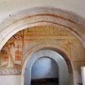 Sao Cucufate römische Ruinen - mit christlicher Bemalung.