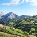 Berge zwischen Septa/Ceuta und Tanger Med.