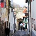 Altstadtgasse in Braganca.