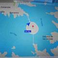 Eine Insel mit Kreisverkehr mitten im Stausee - das müssen wir sehen!