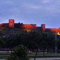 Silves - Castell bei Nacht