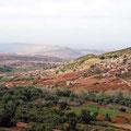 Landschaft im Hohen Atlas.