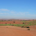 Zwischen Mohammedia und Marrakech.