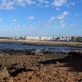 """Strand"" beim CP Camp L'ocean bleu."