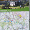 Plan des Hofgutes Hopfenburg.