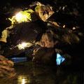 In der Wimsener Höhle.