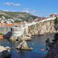 Blick vom Fort auf die Altstadt von Dubrovnik