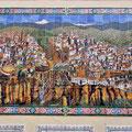 Ronda - Fliesenbild der Stadt
