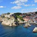Dubrovnik - Blick auf das Fort