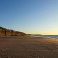 Abendstimmung am Strand von Sesimbra.