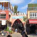 Marrakech - Eingang zu den Souks.