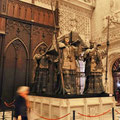 Sevilla - Cathedral - Kolumbusgrab.