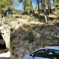 Caminito del Rey - Eingang zum Weg über 2,7 km