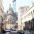 Impressionen bei einer Fahrt mit dem Steyr durch Marseille.