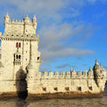 Torre de Belem in Lissabon.