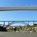 Die Brücken von Porto.