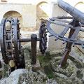 Jerez - Wasserrad im Alcazar