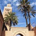 Marrakech - Koutoubia Moschee.