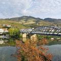 Gitterbrücke über den Douro.