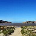 Schöne Bucht in S. Martinho do Porto