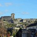 Alte Burg in Lourdes.