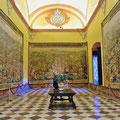 Sevilla - Real Alcázar - Wandteppiche