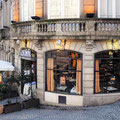 Porto - Cafe in der Altstadt.