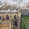 Sevilla - Blick von der Giralda.