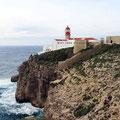 Küste mit Blick auf Rota de S. Vicente.