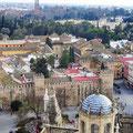 Sevilla - Blick auf den Alcazar von der Giralda.