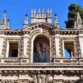 Sevilla - Real Alcázar - Garten