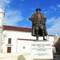 Statue Vasco da Gama.