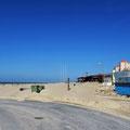 Strand in Foz do Arelho.